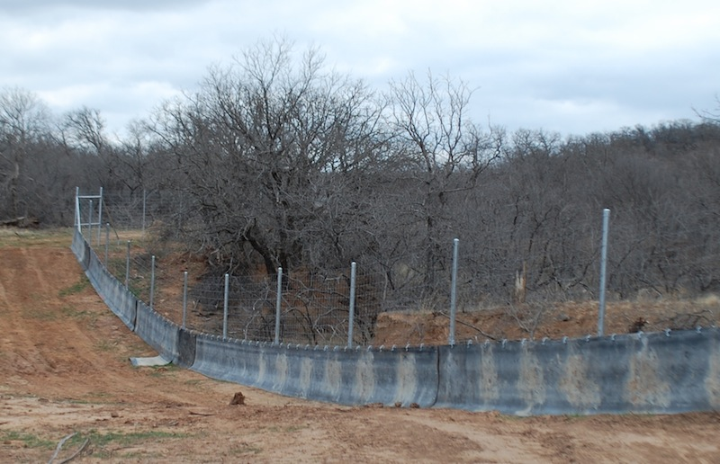 Floatmaster Water Gap Fence Solution Tejas Ranch