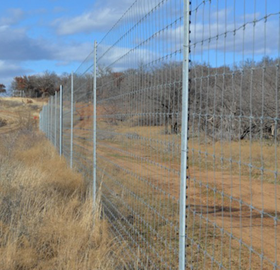 High game fence