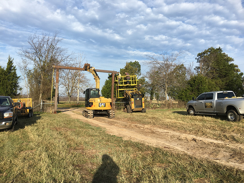 Ranch Fence Projects And Land Clearing Tejas Ranch