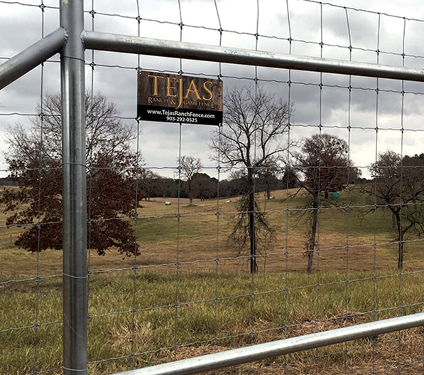 Tejas Ranch & Game Fence