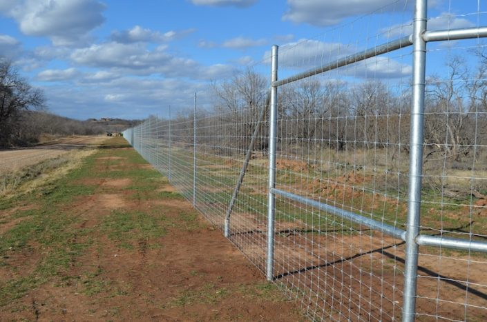 Quality high fence material
