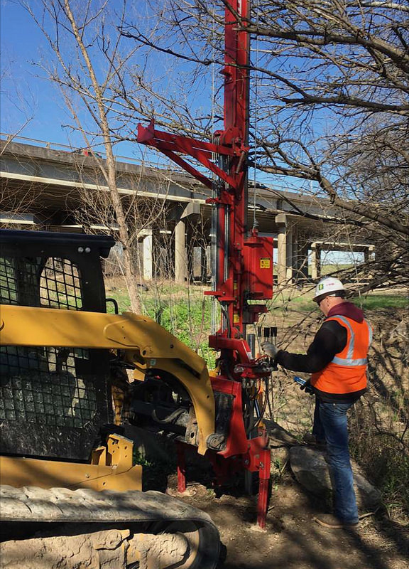Trinity River fence project