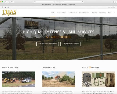 Tejas New Website