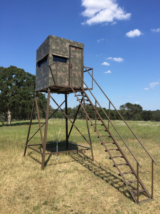 Top Quality Hunting & Deer Blinds by Tejas Ranch Fence | Athens, Texas