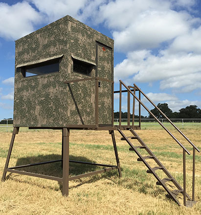 Top Quality Hunting & Deer Blinds by Tejas Ranch Fence
