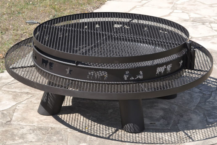 Fire Pits For Your Ranch Offered By Tejas Ranch Fence