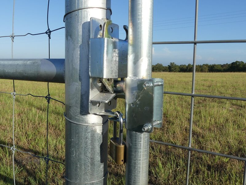 Cattle Fence Gate Latch