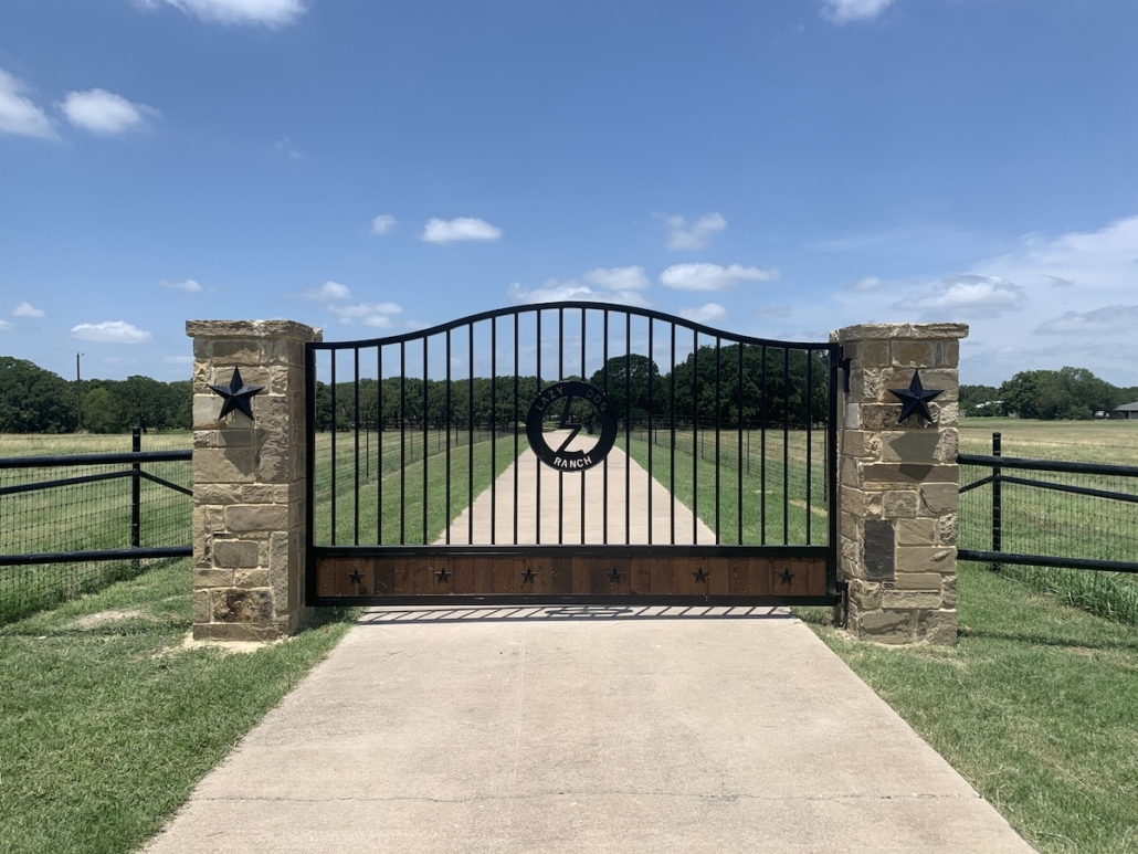 Custom Ranch Entry Gate